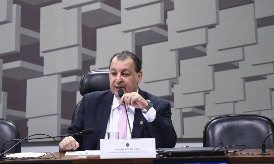 Presidente da CPI da Covid, Senador Omar Aziz (PSD-Am) | Foto: Senado