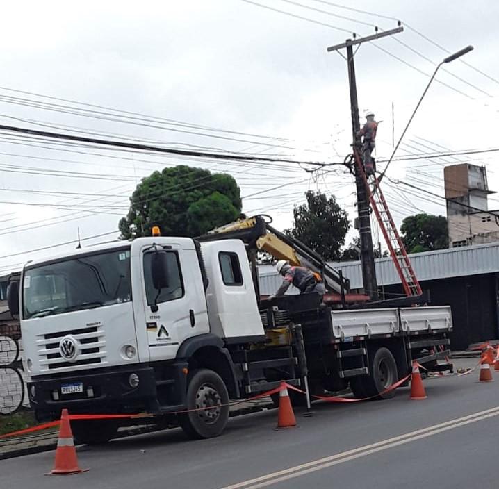 Amazonas Energia no bairro Cidade Nova | Foto: Ascom