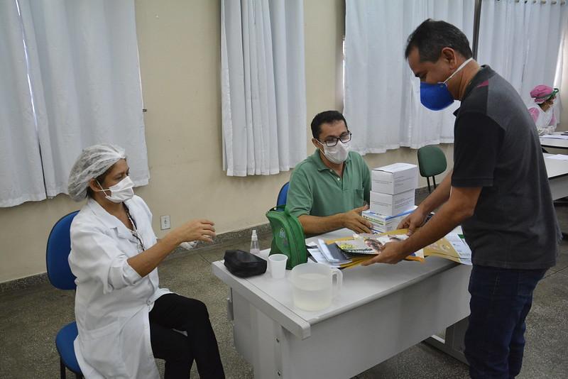 Vacinação Manaus contra o Covid-19   Foto: Arquivo / Semcom