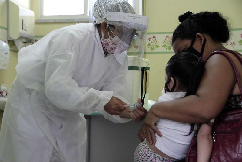 Vacinação Influenza SEMSA   Foto: Altemar Alcântara