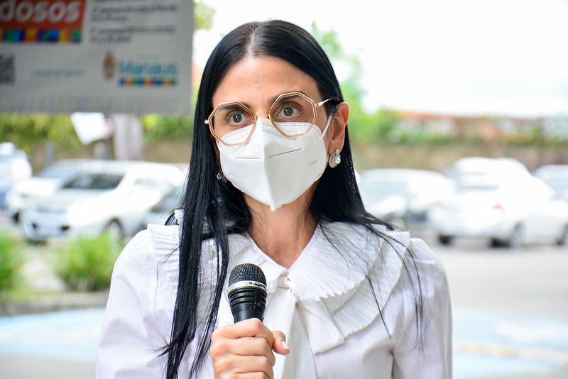 Secretária municipal de Saúde, Shádia Fraxe | Foto: Valdo Leão/SEMSA