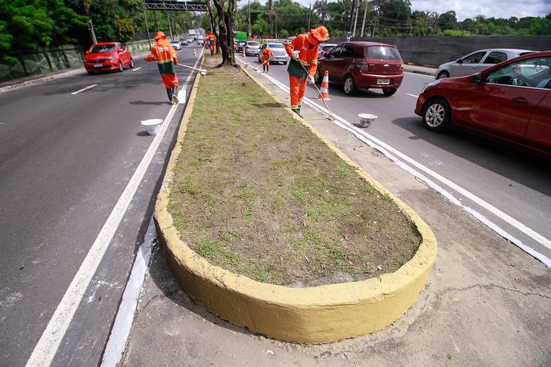 Avenida Ephigênio Salles   Prefeitura de Manaus   Foto: Marcely Gomes/Semulsp