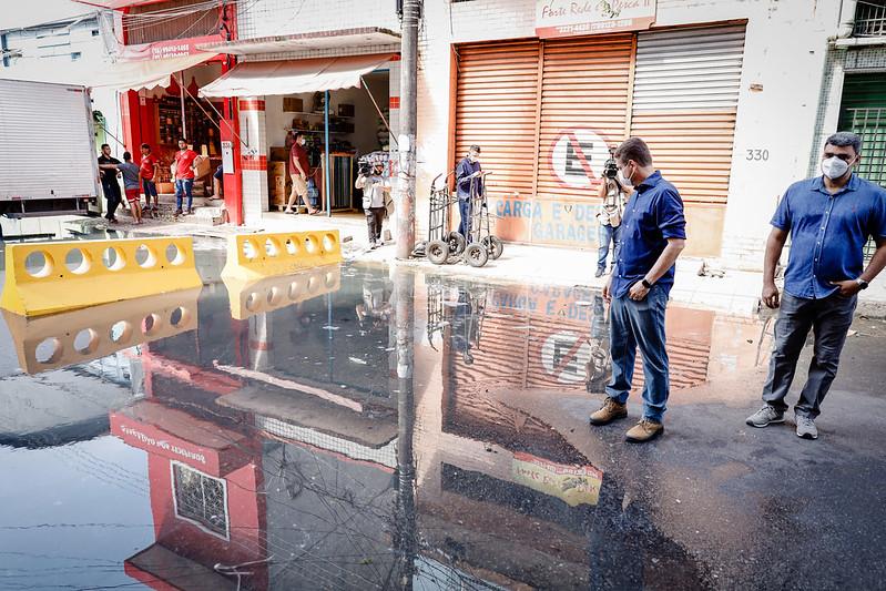 Marcos Rotta | Enchentes 2021 | Prefeitura de Manaus | Foto: Osmar Neto/Seminf