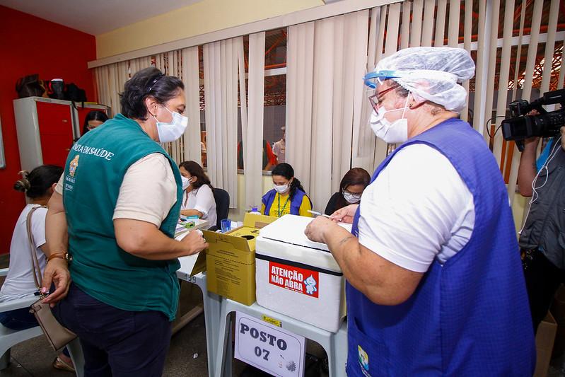 Vacinação Manaus | foto: João Viana