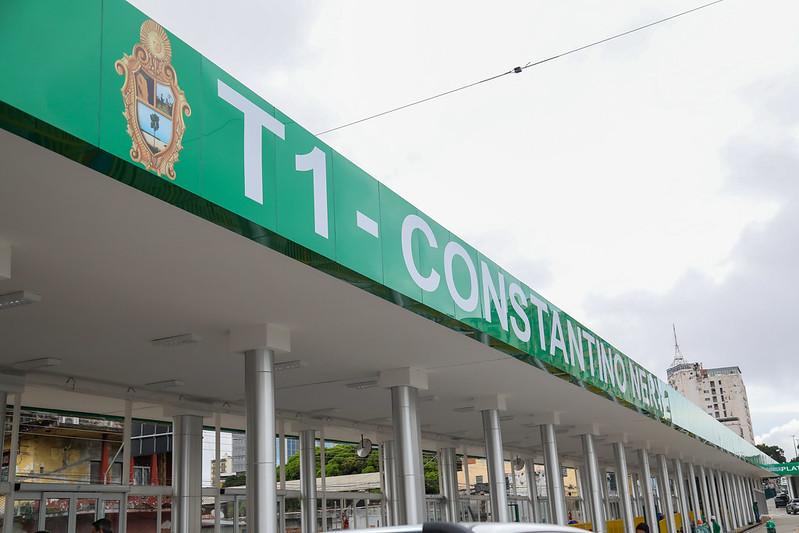 Terminal de Integração 1 em Manaus | Foto: Ruan Souza/Semcom