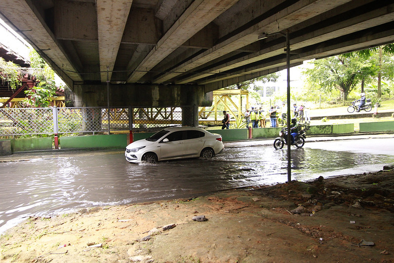 Ponte dos Bilhares IMMU Prefeitura de Manaus | Foto: Altemar Alcântara / Semcom