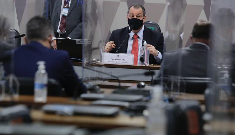 Senador Omar Aziz | foto: Ariel Costa