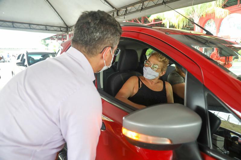 Vacinação contra Covid-19 em Manaus | Foto: Ruan Souza