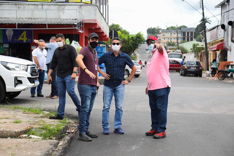 Prefeito de Manaus, David Almeida | Foto: Ruan Souza/Semcom