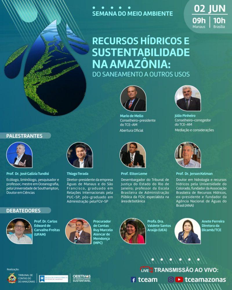 TCE-AM Webinário Ambiental Amazonas