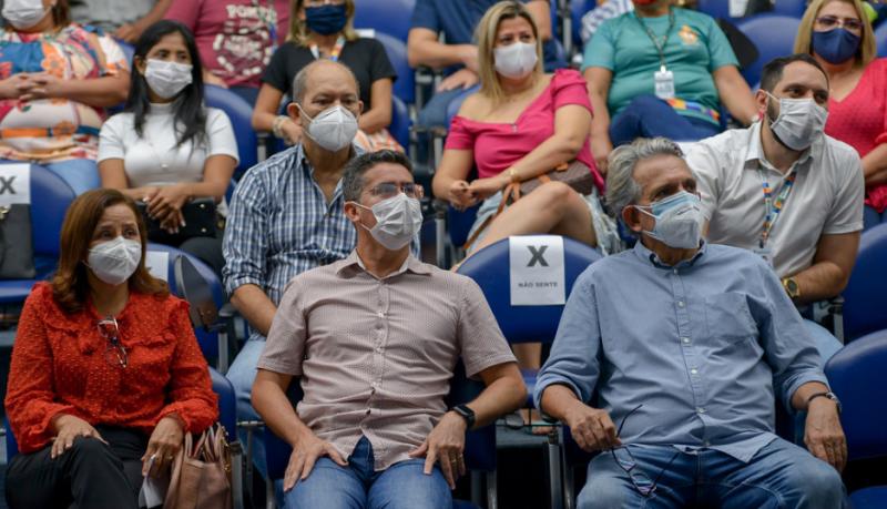 Prefeito de Manaus, David Almeida | Foto: Alex Pazuello / Semed