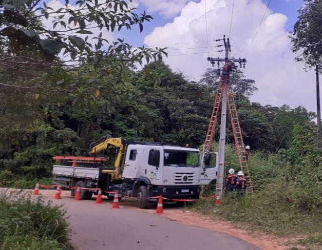 Amazonas Energia Ramal Cláudio Mesquita BR-174