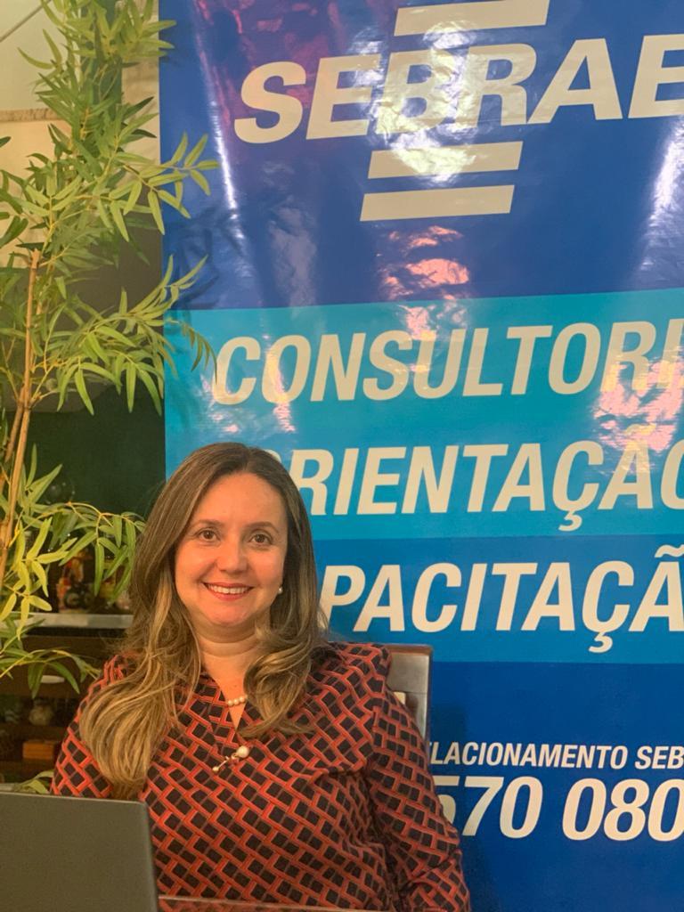Superintendente do Sebrae Amazonas, Lamisse Said Cavalcanti   Foto: Ascom