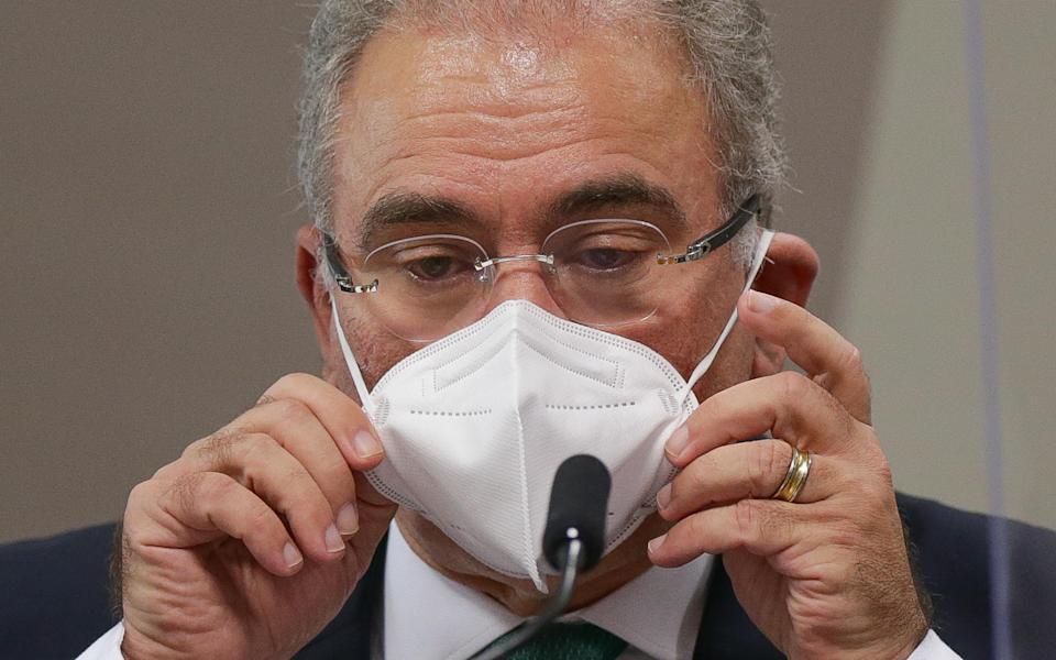 Ministro da saúde, Eduardo Queiroga | Foto: Senado