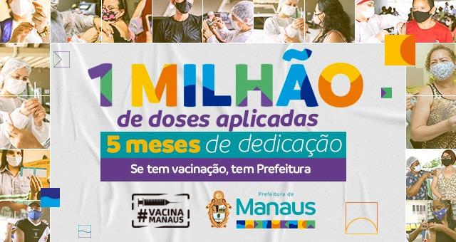 Manaus Vacinação Prefeitura de Manaus
