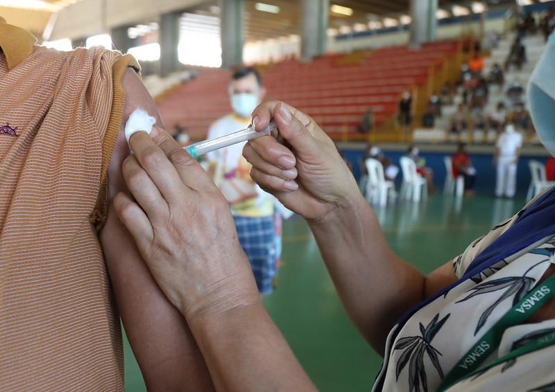 Manaus Caminhoneiros Covid-19 Vacinação