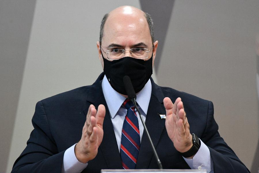 Ex-governador do Rio de Janeiro Wilson Witzel