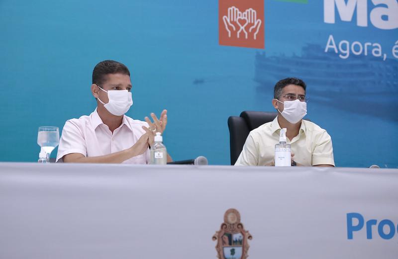 """David Almeida Marcos Rotta Programa """"Mais Manaus"""" Prefeitura de Manaus"""
