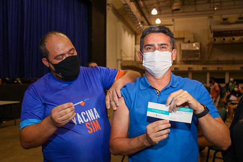 Manaus Covid-19 Vacinação David Almeida Pfizer