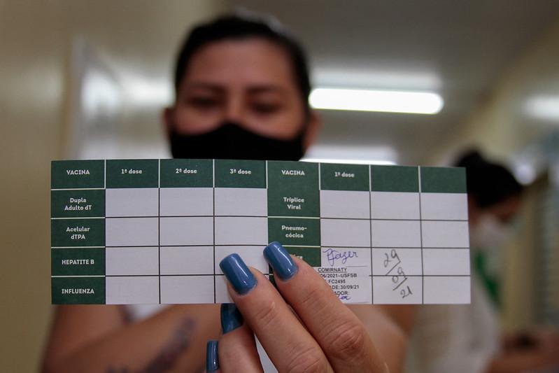 Vacina Manaus SEMSA Covid-19 Vacinação