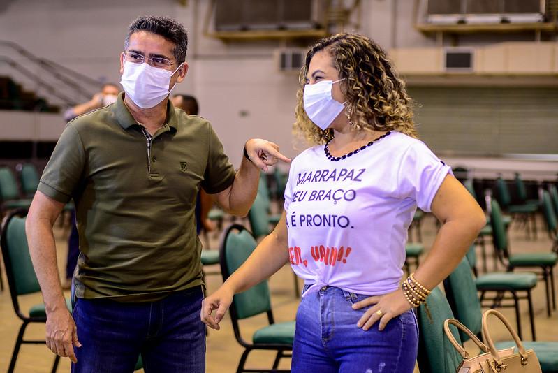 David Almeida Vacinação Manaus Covid-19