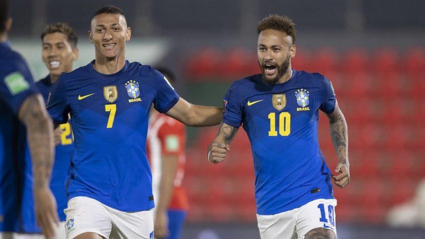 Brasil Paraguai eliminatórias da Copa do Mundo