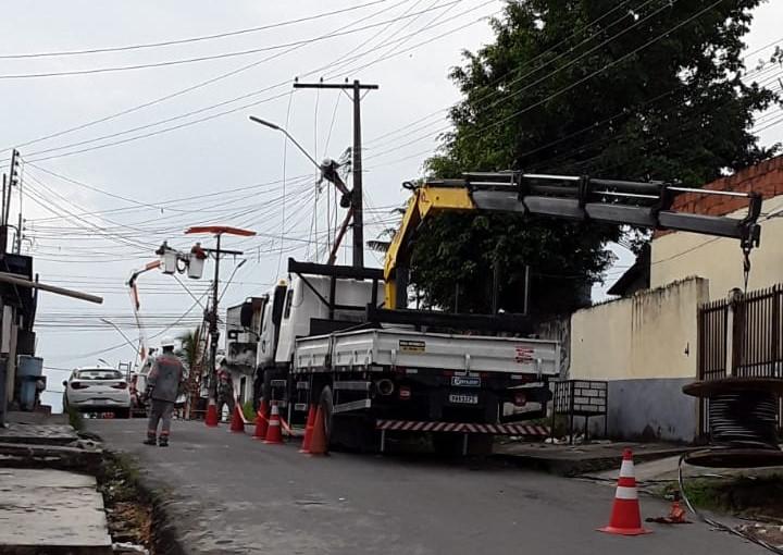 Amazonas Energia Bairro Colônia Santo Antônio