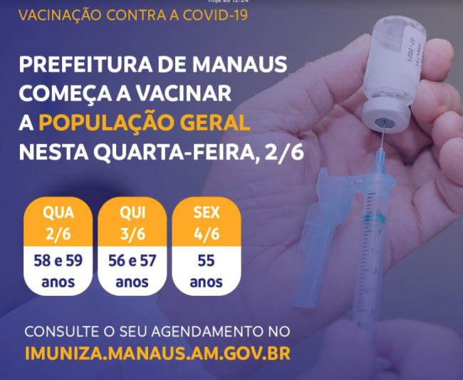 vacinação Covid-19 Manaus