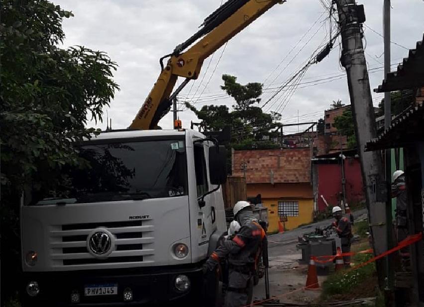 Bairro Zumbi Amazonas Energia