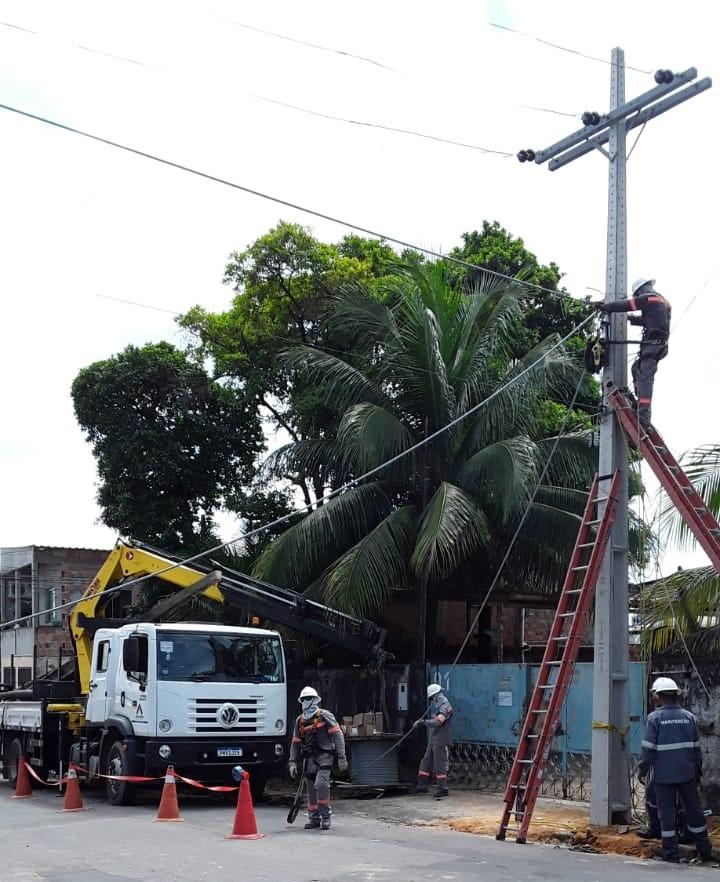 Amazonas Energia bairro Crespo
