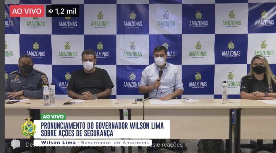 Governo do Amazonas Wilson Lima SSP-AM