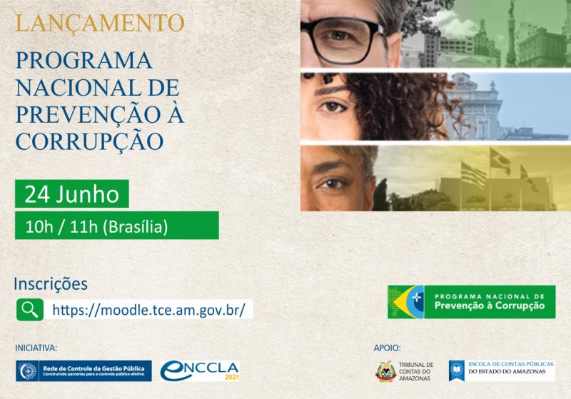 TCU CGU TCE Programa de Prevenção à Corrupção Amazonas