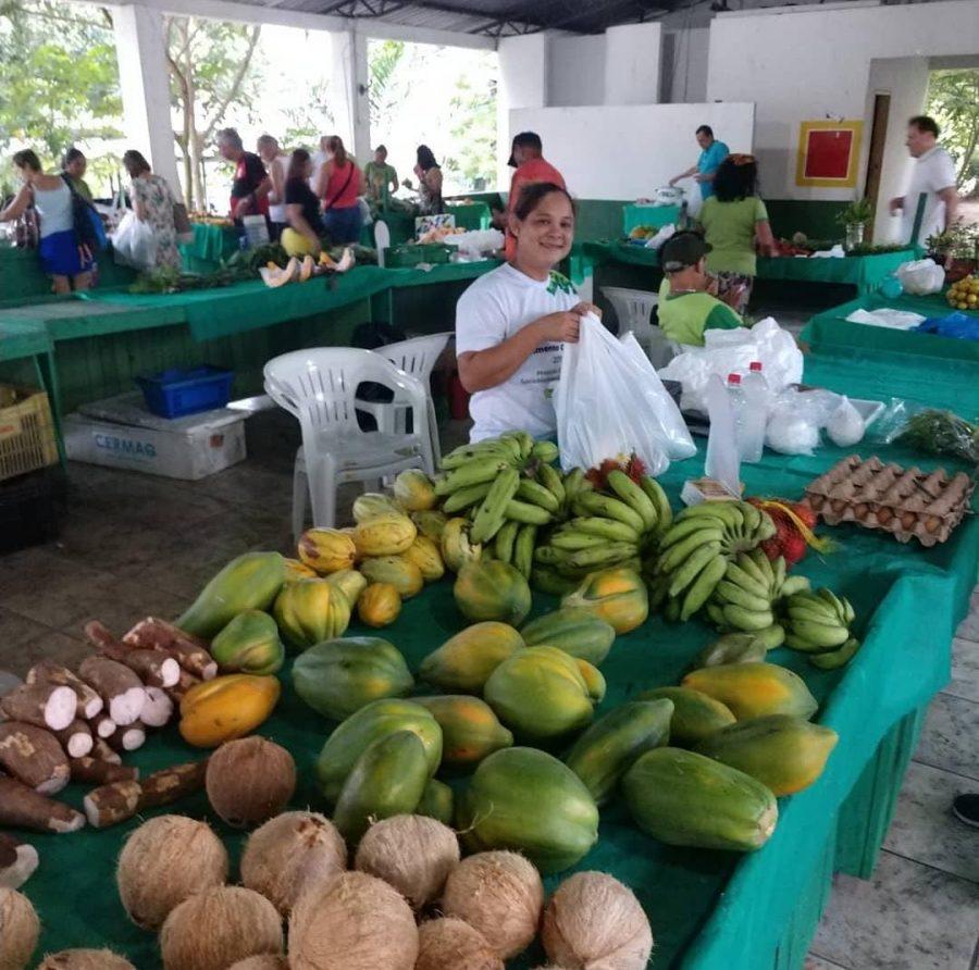 Sebrae/Am Feira de produtos orgânicos MAPA Amazonas