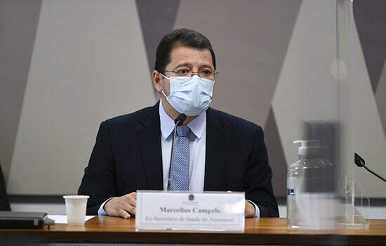 Marcellus Campêlo CPI da Covid SES-AM
