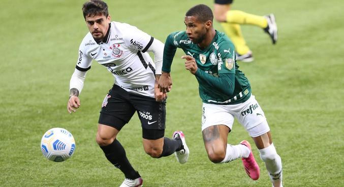 Brasileirão 2021 Palmeiras Corinthians