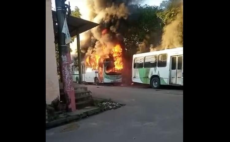 Segurança Amazonas Incendio Ônibus