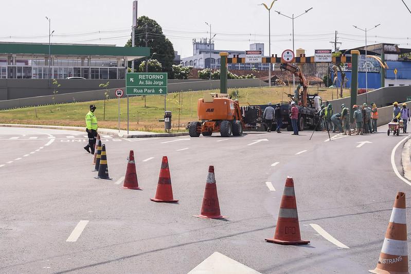 Prefeitura de Manaus IMMU complexo viário Ministro Roberto Campos
