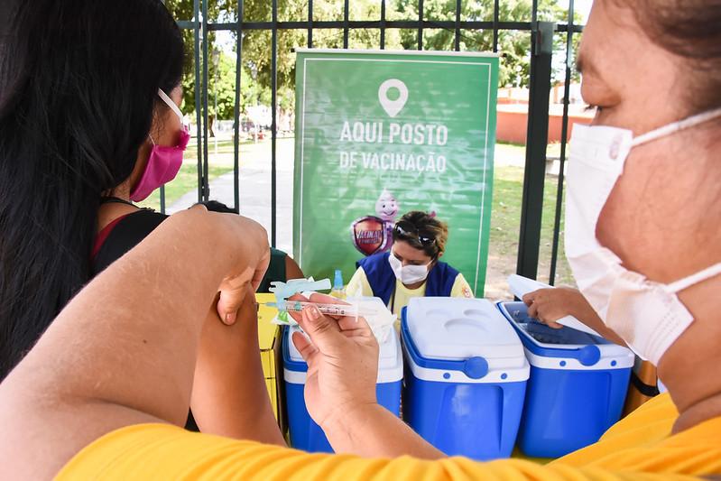 Vacinação Dia D Influenza Manaus SEMSA