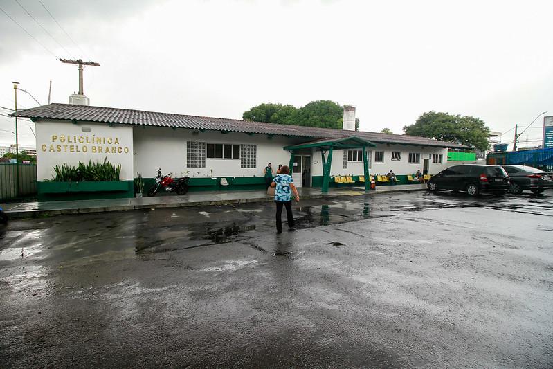 Policlínica Castelo Branco Vacinação Manaus Semsa Influenza