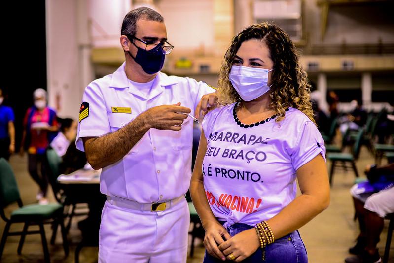 Manaus vacinação Covid-19 Posto de Vacinação