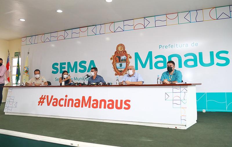 Vacinação Manaus David Almeida Covid-19