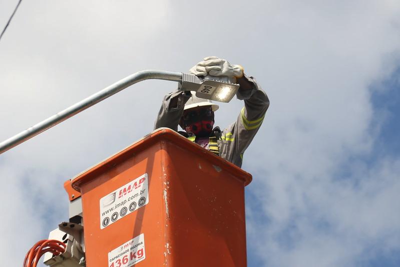 Manaus Luz Prefeitura de Manaus iluminação a LED