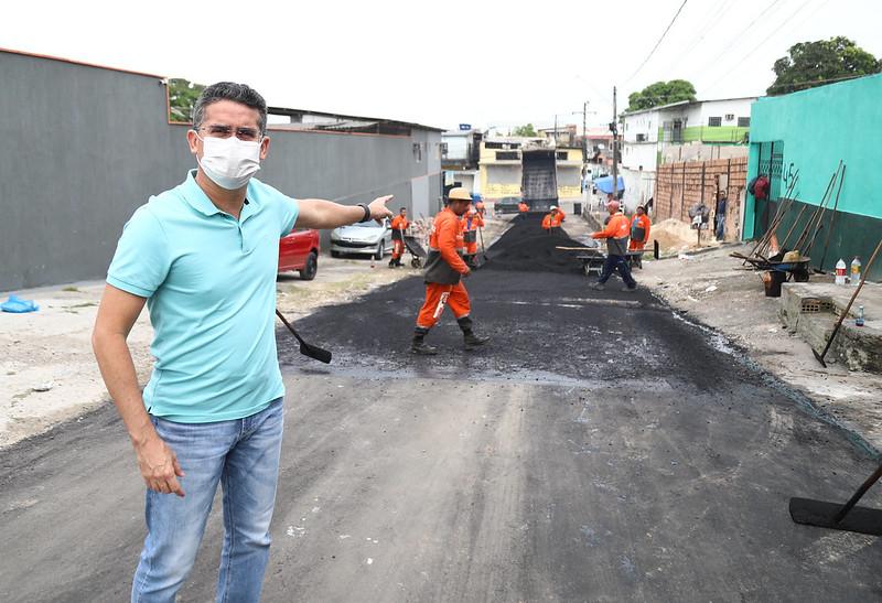 """David Almeida Prefeitura de Manaus SEMINF Pacote """"Obras de Inverno"""""""