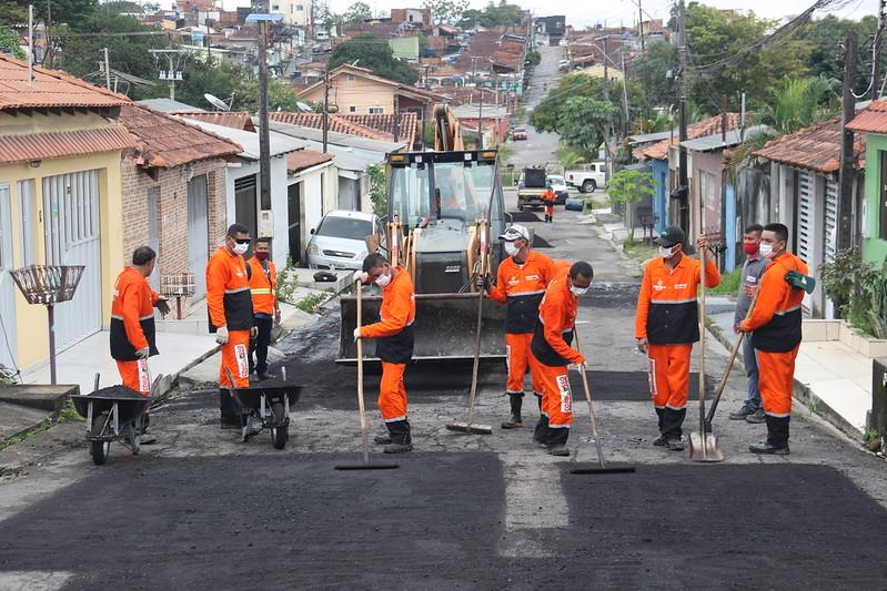 Manaus SEMINF Marcos Rotta Prefeitura de Manaus
