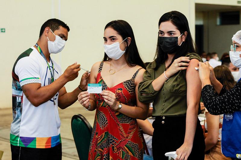 SEMSA Covid-19 Vacinação Manaus