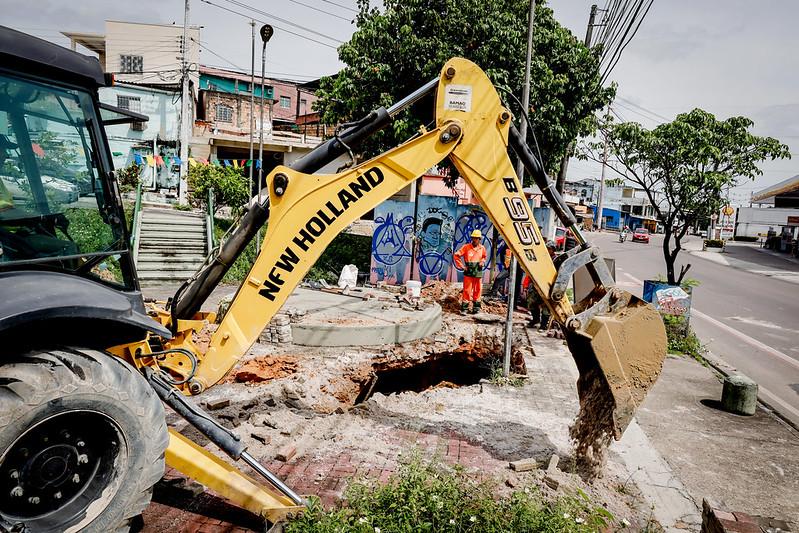 Prefeitura de Manaus SEMINF Bairro Compensa