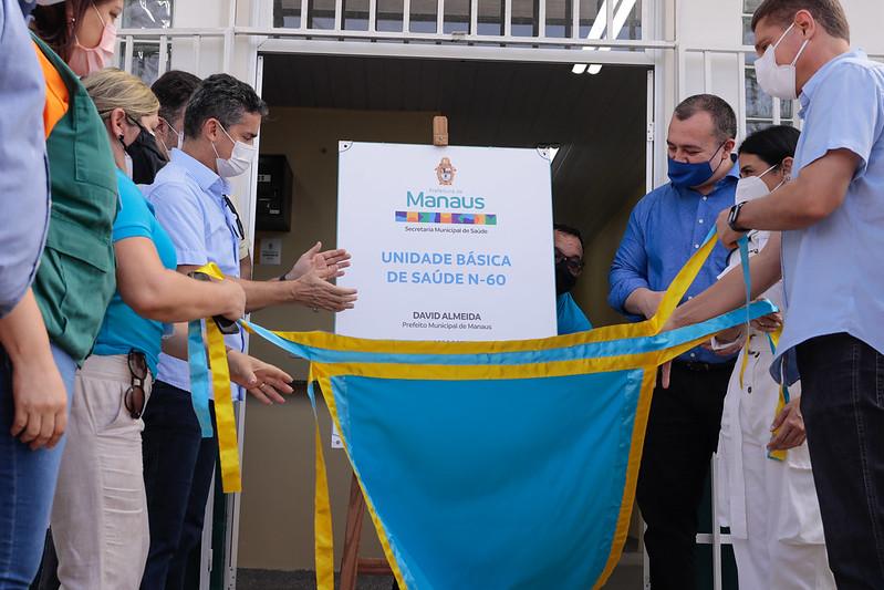 David Almeida inaugura nova UBS na Zona Norte de Manaus na saúde