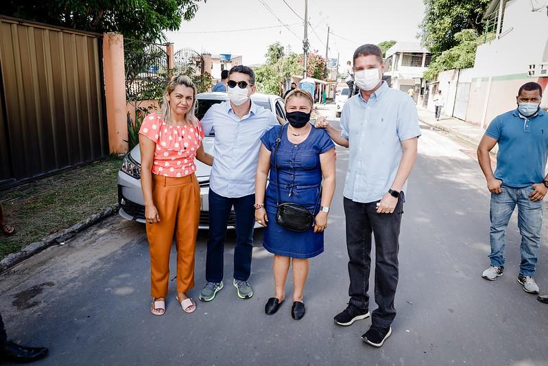 David Almeida Marcos Rotta Mutirão Comunidade Ismail Aziz Prefeitura de Manaus