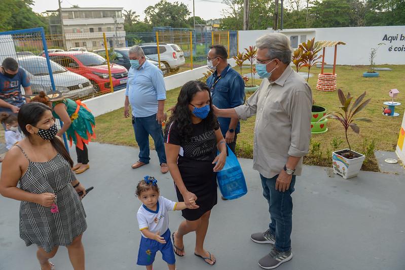 Prefeitura de Manaus Creche Maristela Martins Rebouças SEMED