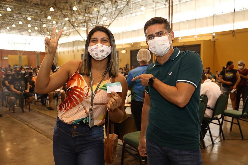 David Almeida Covid-19 Vacinação Manaus